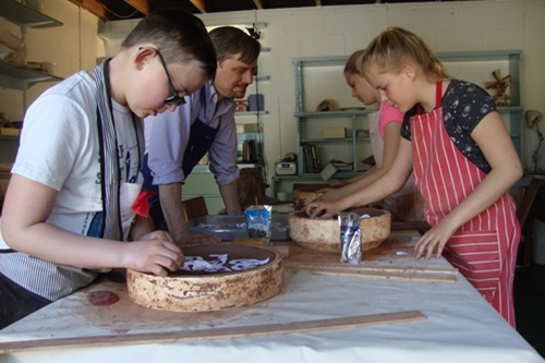 Pottery classes for all ages in Ware