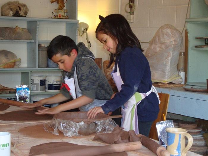 pottery classes for children