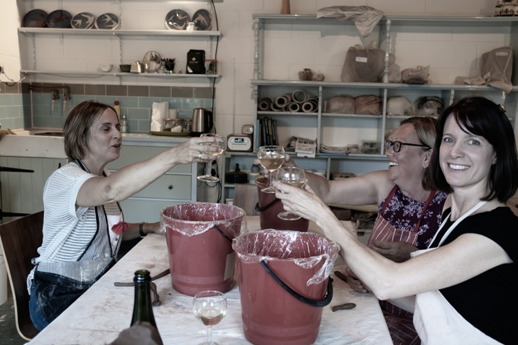 ladies night pottery classes in east herts
