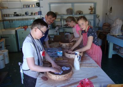 pottery classes for kids in east herts