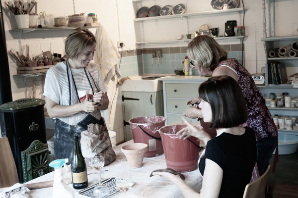 Ladies Night Pottery Classes in Ware