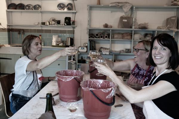Ladies Night Pottery Classes in Puckeridge