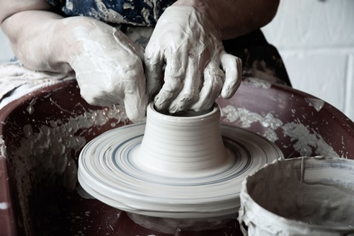 Potters wheel classes in Hertfordshire